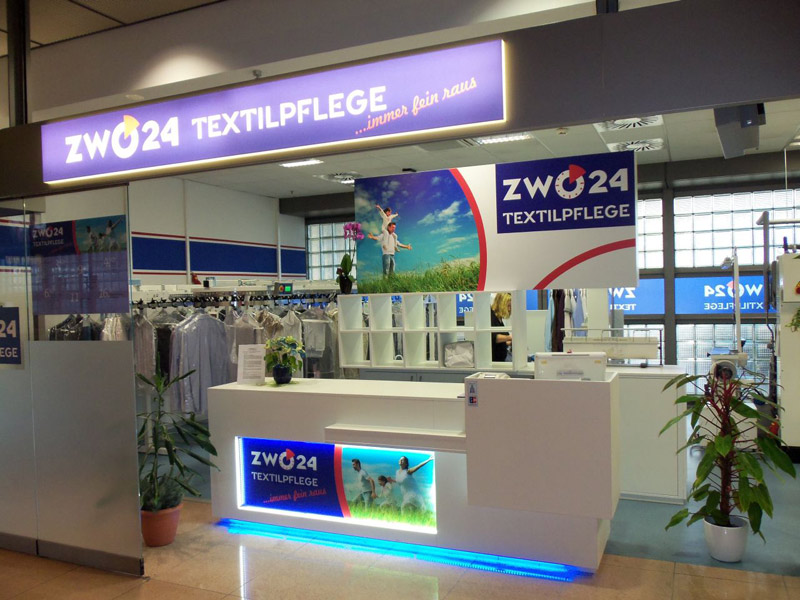 zwo24 Textilreinigung Flughafen Hamburg